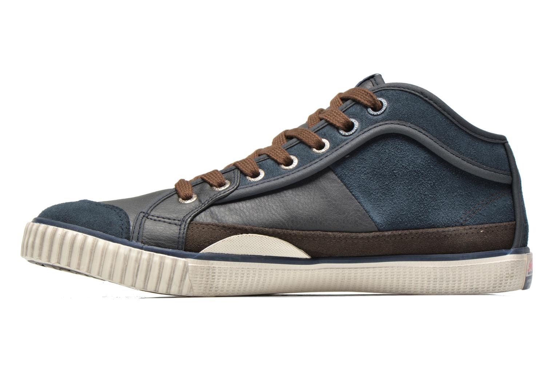 Baskets Pepe jeans Industry Half Bleu vue face