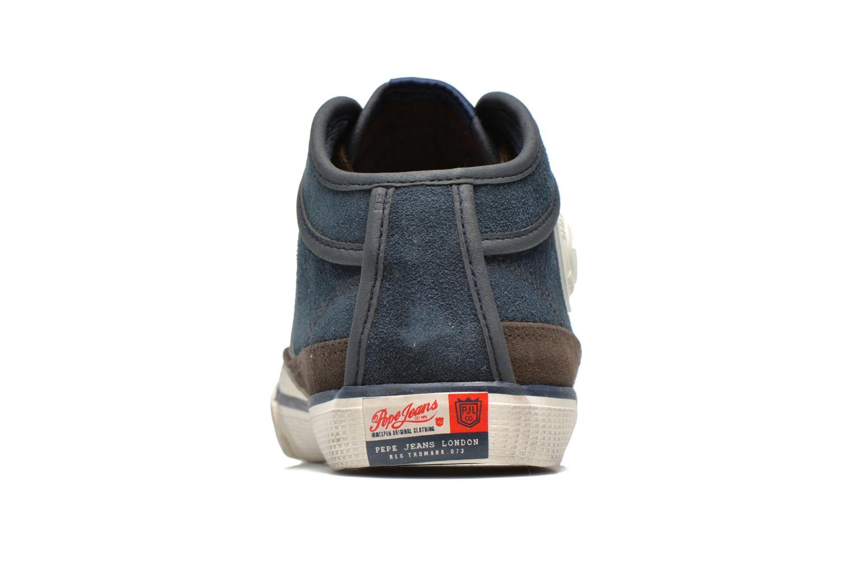 Baskets Pepe jeans Industry Half Bleu vue droite