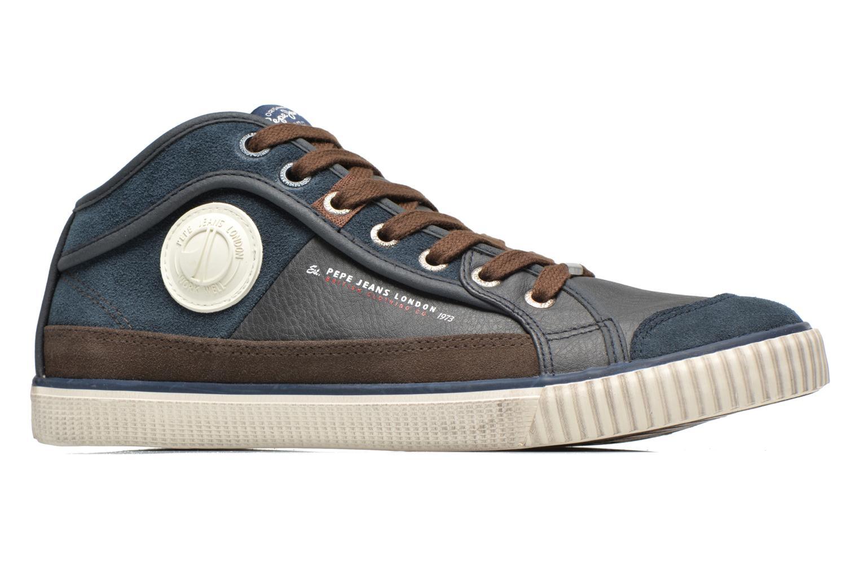 Baskets Pepe jeans Industry Half Bleu vue derrière