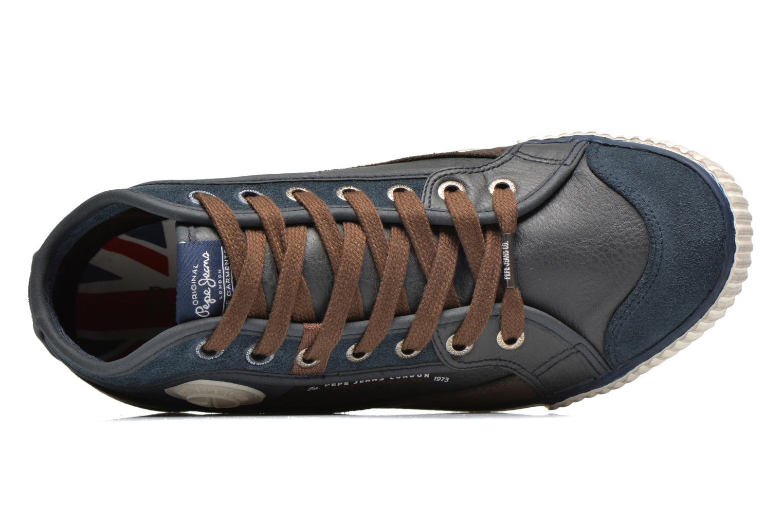 Baskets Pepe jeans Industry Half Bleu vue gauche