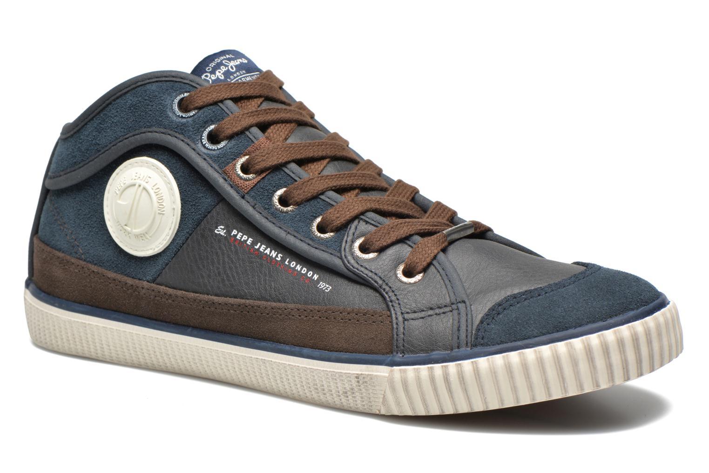 Baskets Pepe jeans Industry Half Bleu vue détail/paire