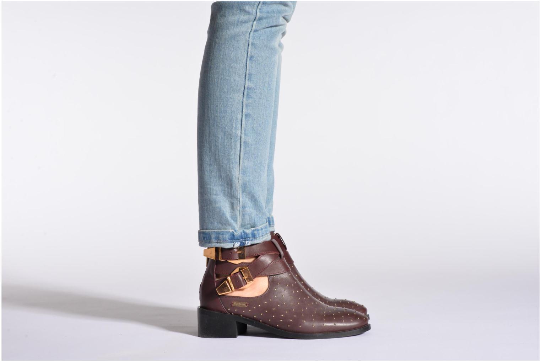 Bottines et boots Pepe jeans Angie Vintage Bordeaux vue bas / vue portée sac