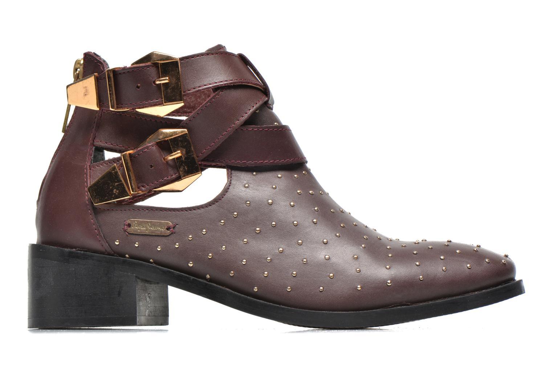 Bottines et boots Pepe jeans Angie Vintage Bordeaux vue derrière
