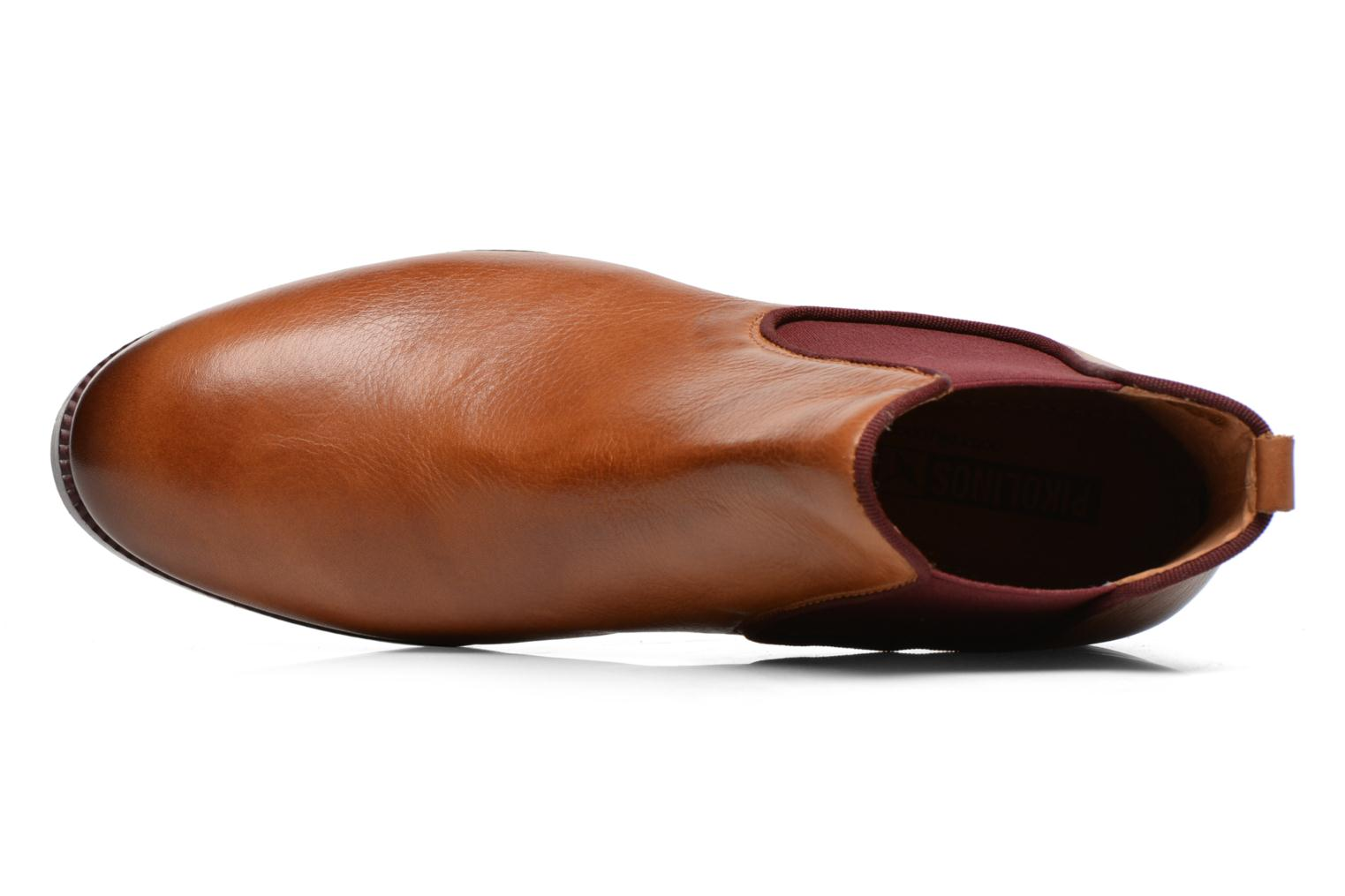 Ankle boots Pikolinos Royal W4D-8637 Brown view from the left