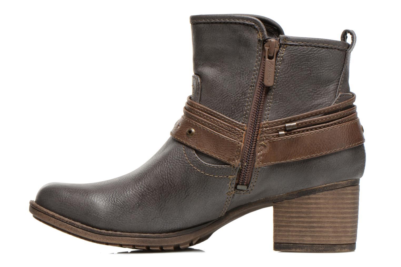 Bottines et boots Mustang shoes Hillun Gris vue face