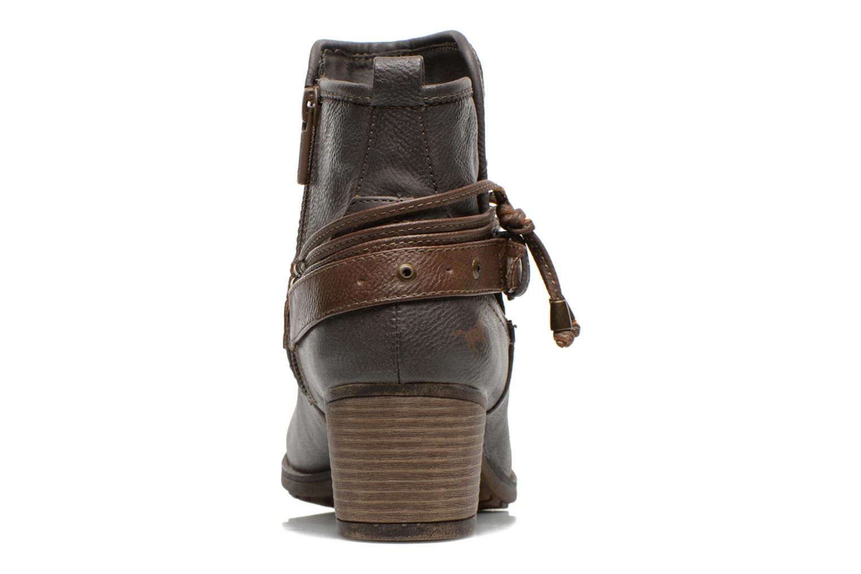 Bottines et boots Mustang shoes Hillun Gris vue droite