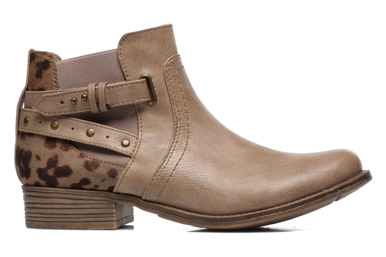 Bottines et boots Mustang shoes Lienos Beige vue derrière
