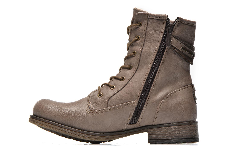 Bottines et boots Mustang shoes Amis Marron vue face