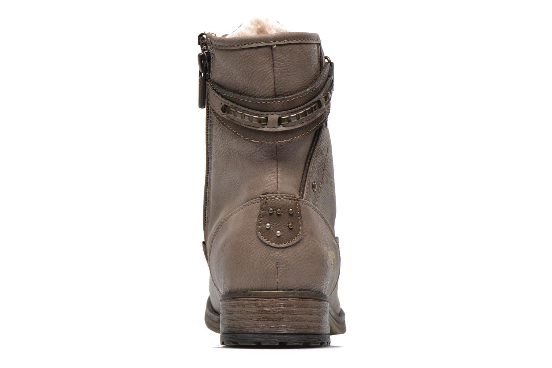 Bottines et boots Mustang shoes Amis Marron vue droite