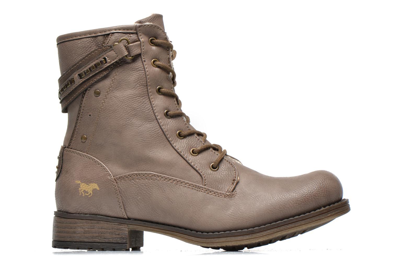 Bottines et boots Mustang shoes Amis Marron vue derrière
