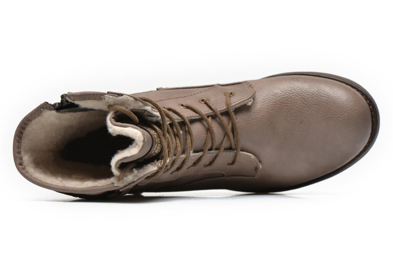 Bottines et boots Mustang shoes Amis Marron vue gauche