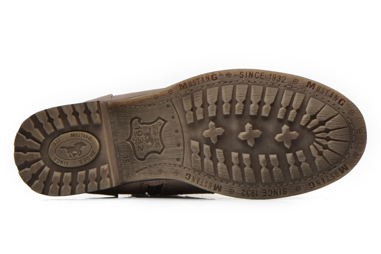 Bottines et boots Mustang shoes Amis Marron vue haut