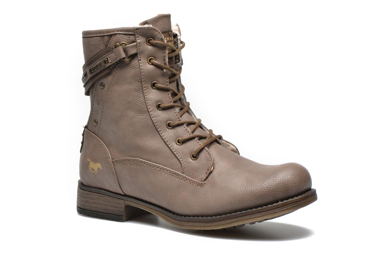 Bottines et boots Mustang shoes Amis Marron vue détail/paire