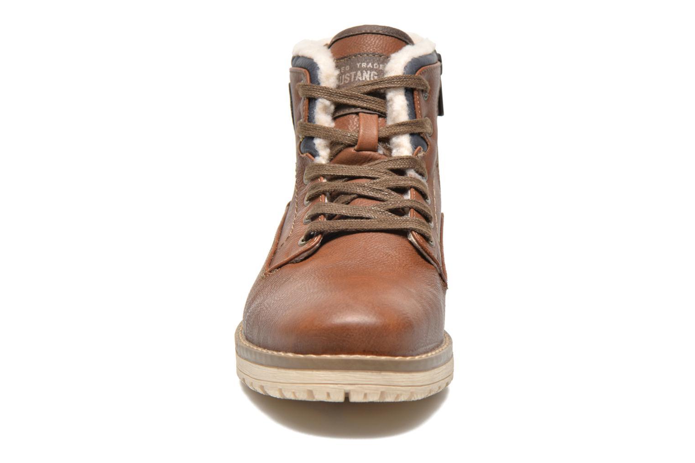 Stiefeletten & Boots Mustang shoes Legsar braun schuhe getragen