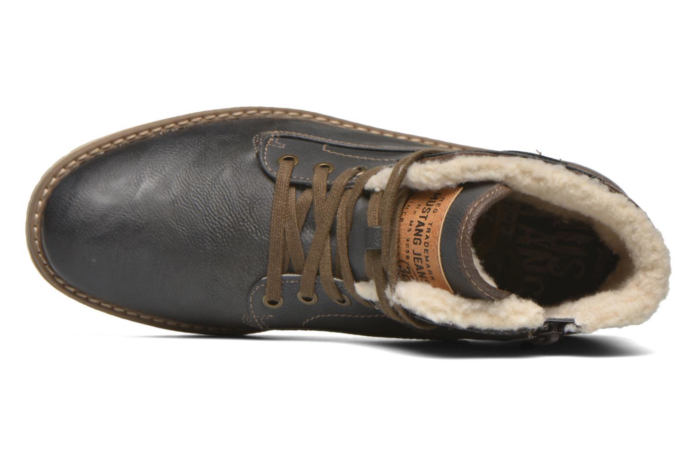 Bottines et boots Mustang shoes Legsar Gris vue gauche