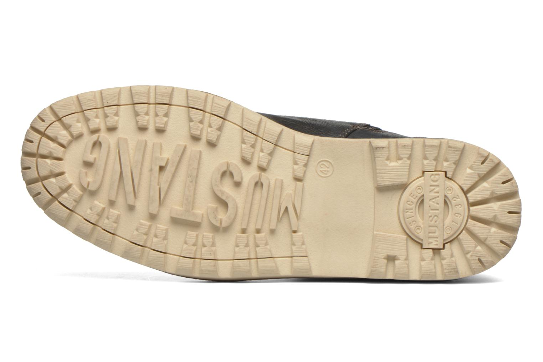Stiefeletten & Boots Mustang shoes Legsar grau ansicht von oben