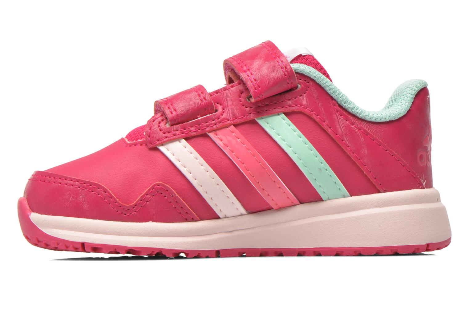 Chaussures de sport Adidas Performance Snice 4 CF I Rose vue face