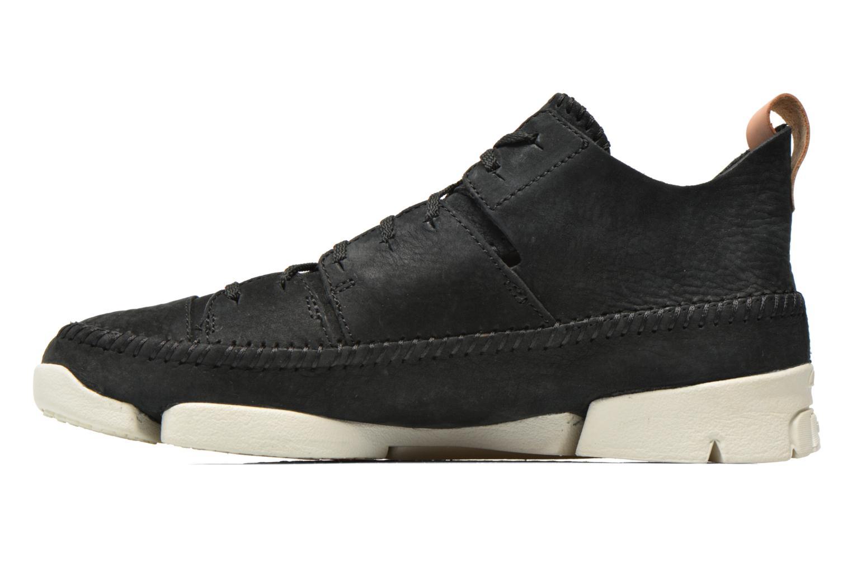 Baskets Clarks Originals Trigenic Flex M Noir vue face