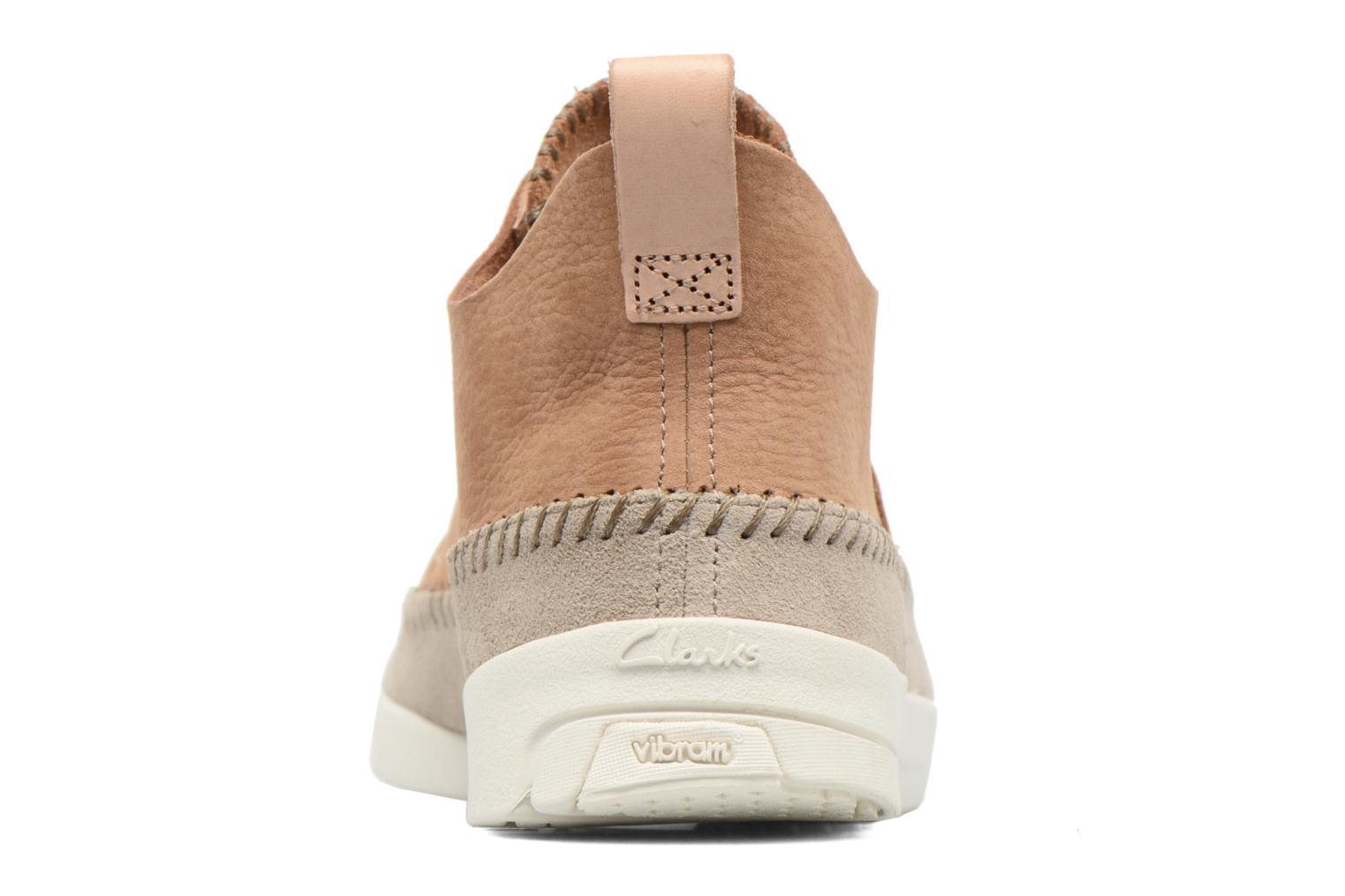 Baskets Clarks Originals Trigenic Flex M Marron vue droite
