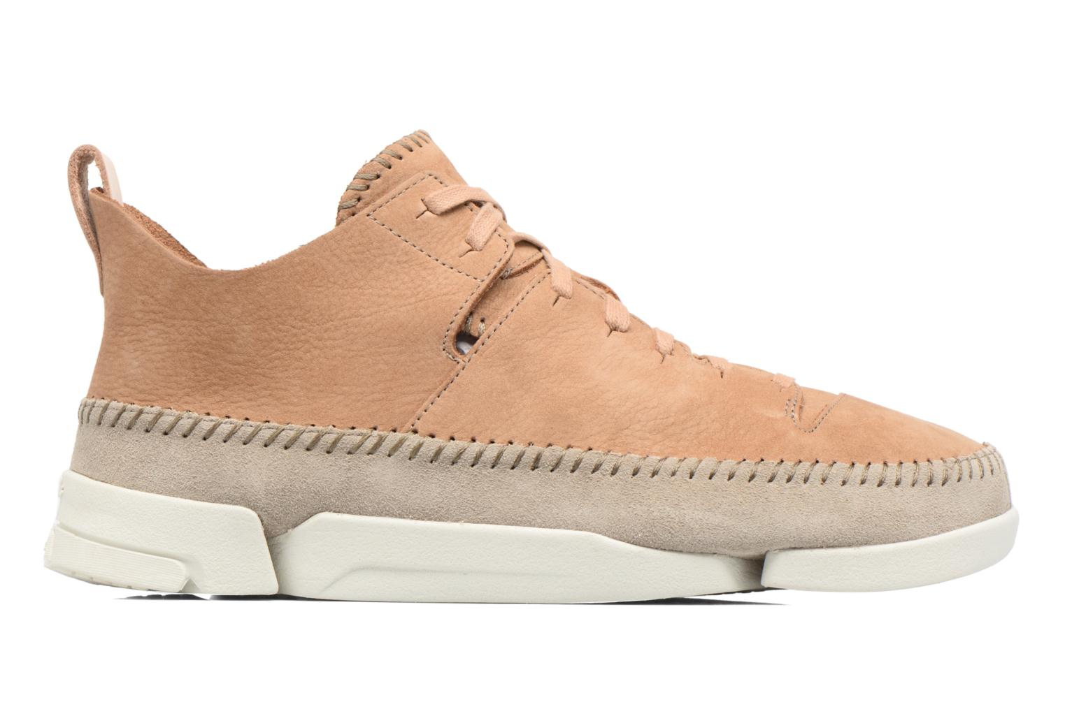 Baskets Clarks Originals Trigenic Flex M Marron vue derrière
