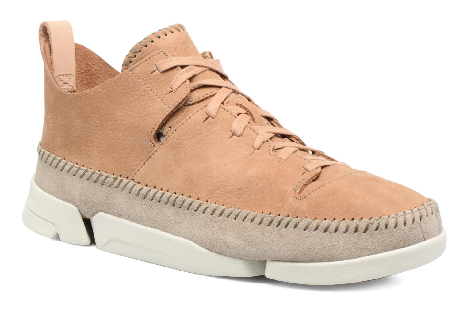 Baskets Clarks Originals Trigenic Flex M Marron vue détail/paire