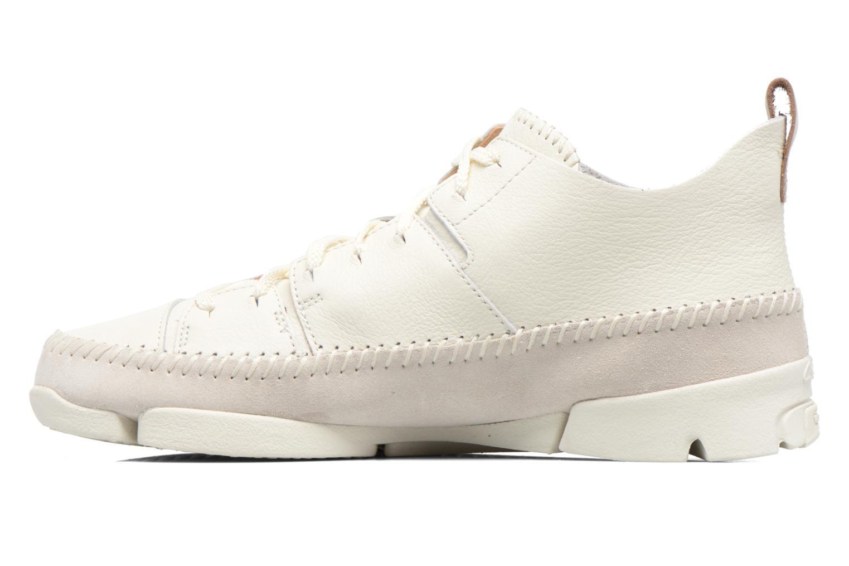 Sneakers Clarks Originals Trigenic Flex M Bianco immagine frontale