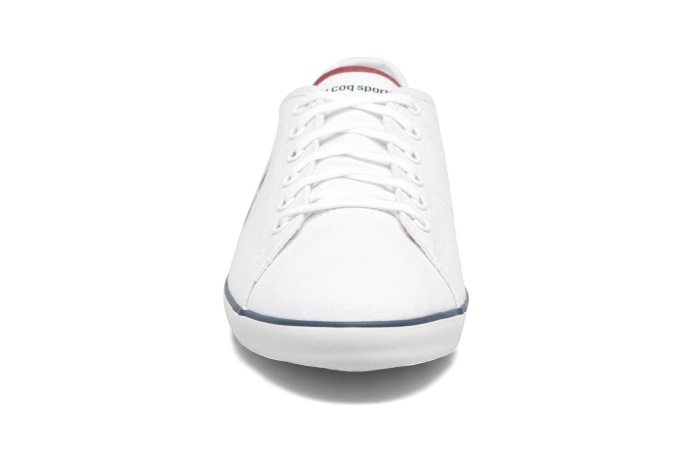 Sneaker Le Coq Sportif Slimset CVS weiß schuhe getragen