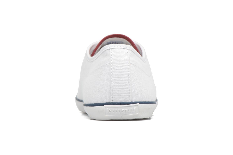 Sneaker Le Coq Sportif Slimset CVS weiß ansicht von rechts