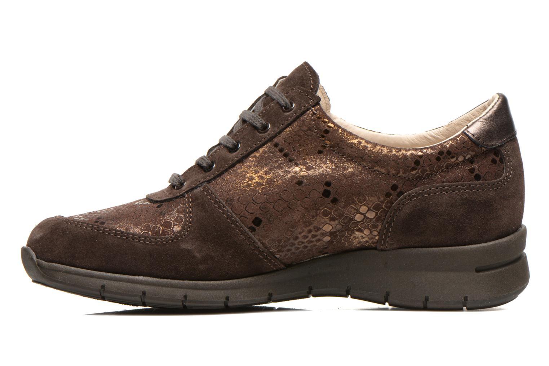 Sneakers UMO Confort Douti Bruin voorkant