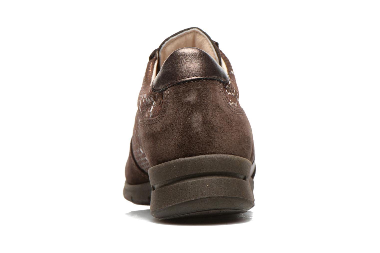 Sneaker UMO Confort Douti braun ansicht von rechts