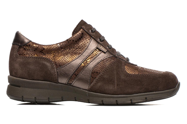 Sneaker UMO Confort Douti braun ansicht von hinten