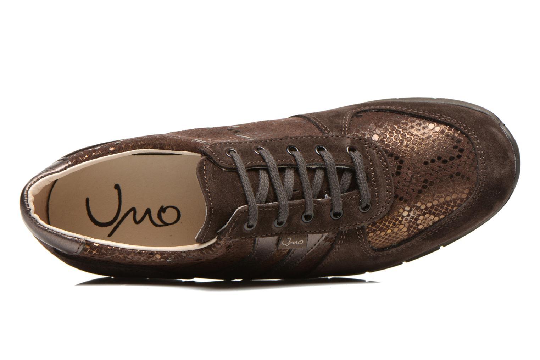 Sneaker UMO Confort Douti braun ansicht von links