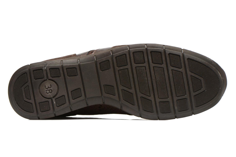 Sneaker UMO Confort Douti braun ansicht von oben