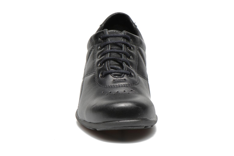 Baskets UMO Confort Deco Noir vue portées chaussures