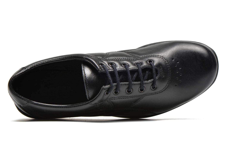 Baskets UMO Confort Deco Noir vue gauche