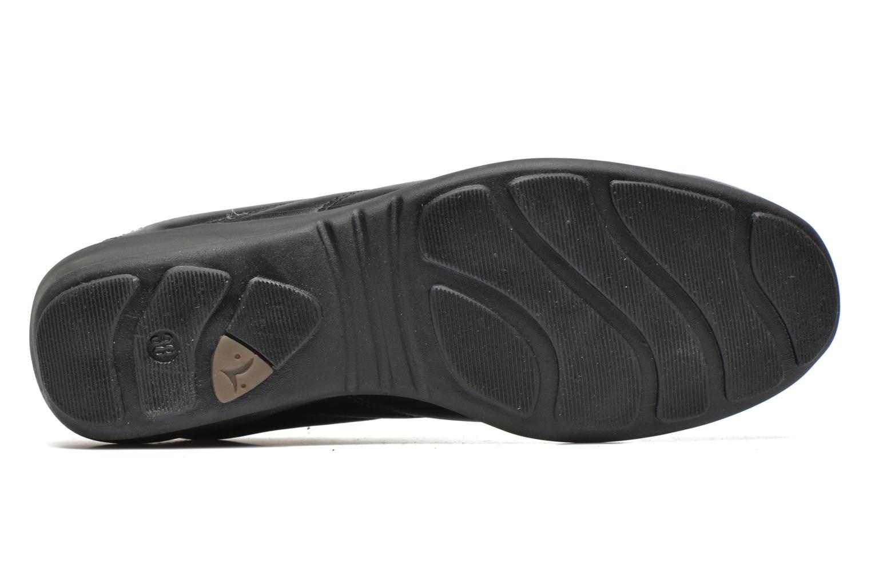 Baskets UMO Confort Deco Noir vue haut