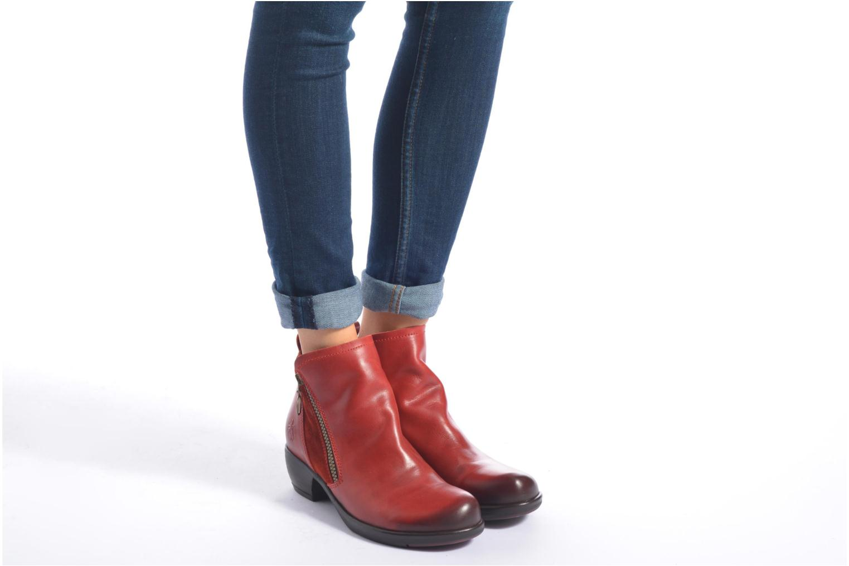 Stiefeletten & Boots Fly London Meli schwarz ansicht von unten / tasche getragen
