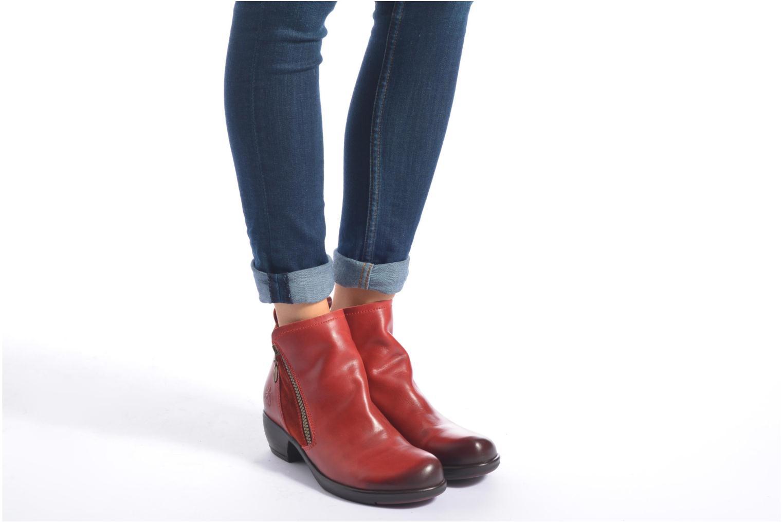 Bottines et boots Fly London Meli Noir vue bas / vue portée sac
