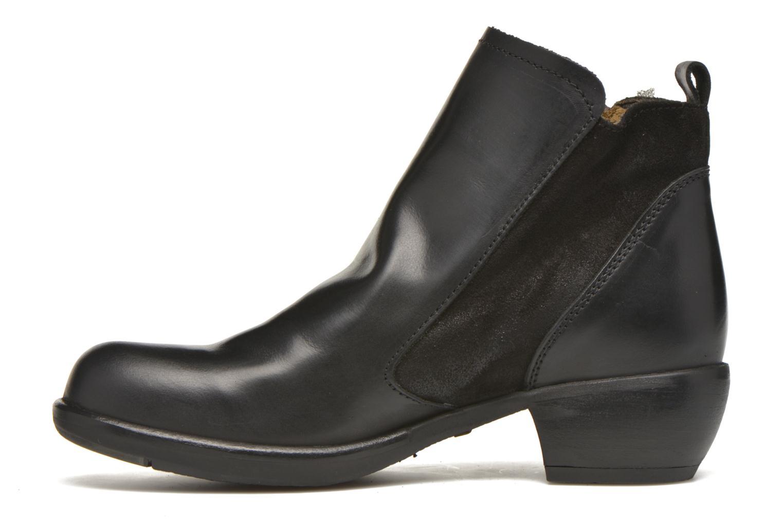 Bottines et boots Fly London Meli Noir vue face