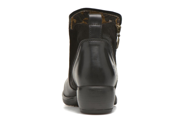 Bottines et boots Fly London Meli Noir vue droite