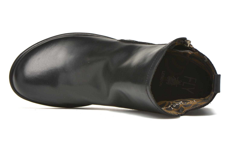 Bottines et boots Fly London Meli Noir vue gauche