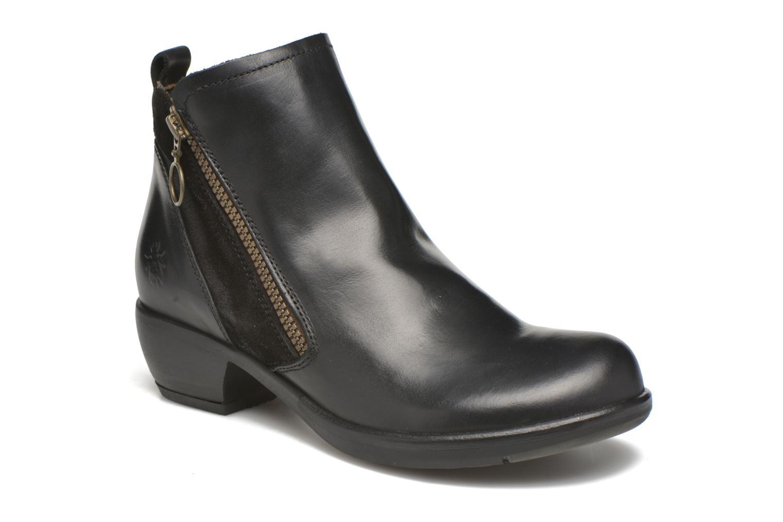 Bottines et boots Fly London Meli Noir vue détail/paire