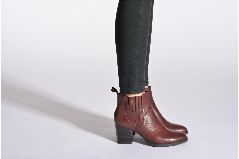 Bottines et boots Vagabond JULIE 4008-201 Noir vue bas / vue portée sac