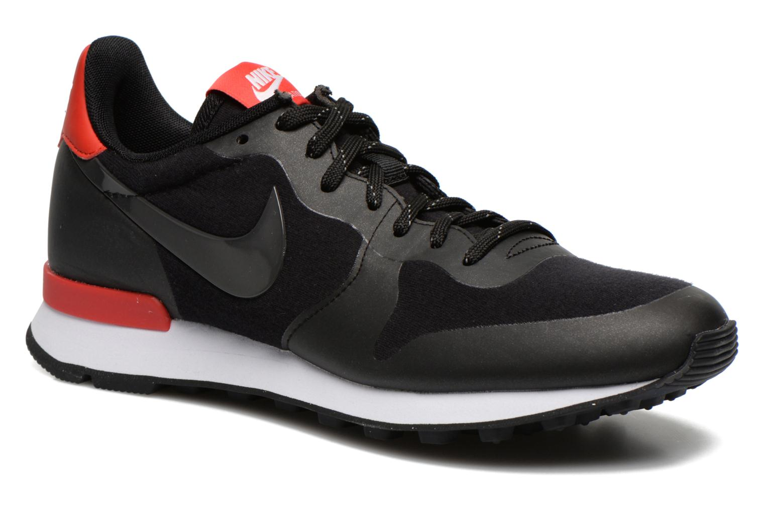 W Nike Internationalist Tp Black/Black-Chllng Red-White