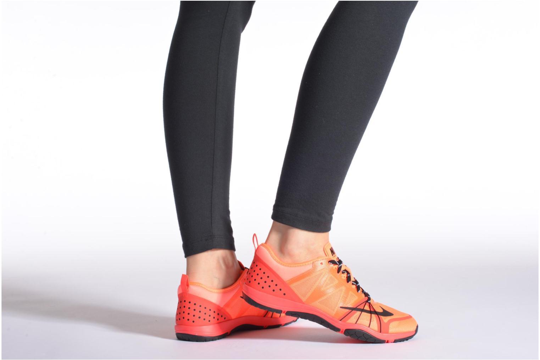 Chaussures de sport Nike Wmns Nike Free Cross Compete Gris vue bas / vue portée sac