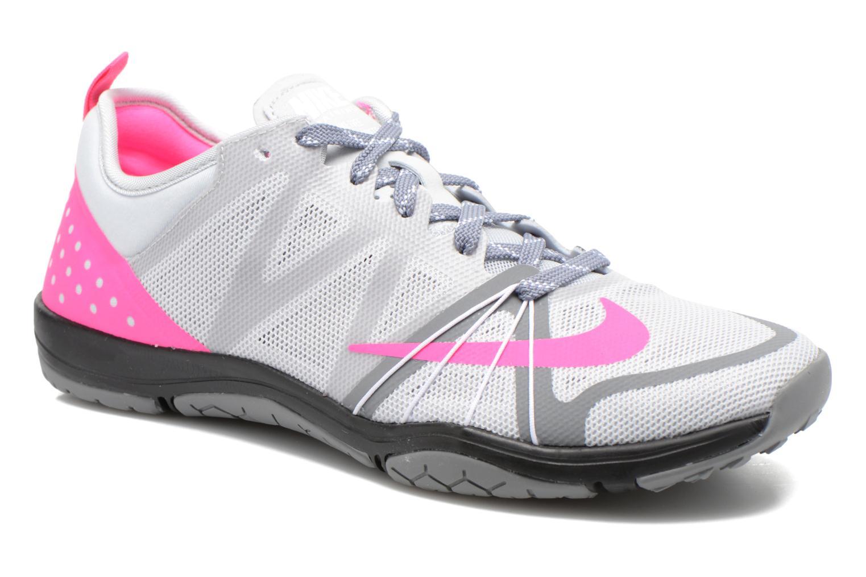 Chaussures de sport Nike Wmns Nike Free Cross Compete Gris vue détail/paire