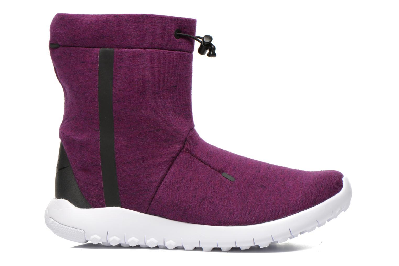 Bottines et boots Nike Wmns Nike Tech Fleece Mid Violet vue derrière