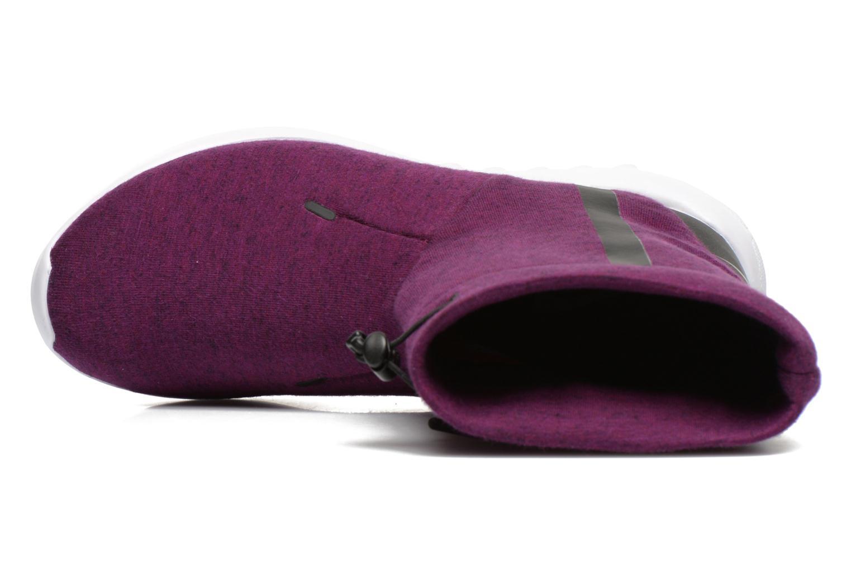 Bottines et boots Nike Wmns Nike Tech Fleece Mid Violet vue gauche