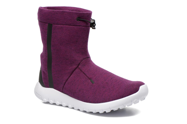 Bottines et boots Nike Wmns Nike Tech Fleece Mid Violet vue détail/paire