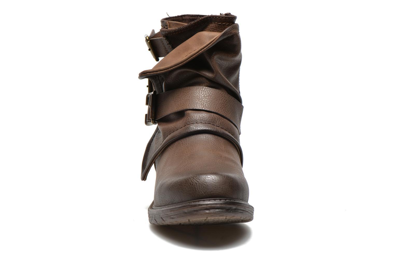 Bottines et boots Dockers Trice Marron vue portées chaussures